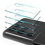 CloudValley 4 Pack for Samsung Galaxy S21 Ultra Camera Lens Protector, Clear Tempered Glass Back Camera Lens Cover, Anti-Scratch Camera Protectors[Transparent]