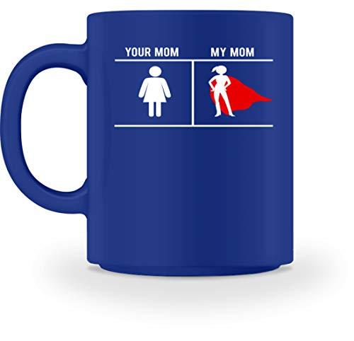 Generic Your Mom My Mom - Symbol für Damentoiletten vs. Superwoman-Symbol - Design für stolze Söhne - Tasse