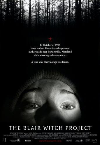 Blair Witch Project Movie Poster 24in x36in