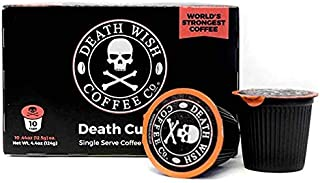 death wish coffee calories