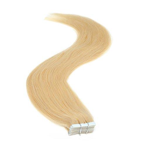 Ruban adhésif en Extensions de cheveux | 45,7 cm | 50PS | 50 g | Blondie Blonde (22)