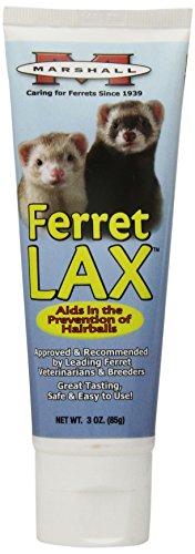 Marshall Ferret LAX Hairball y obstrucción Remedio para los Hurones, 3-Ounce