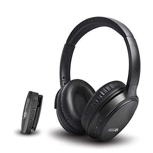 Skyaudio TV Headset Closed Monitor-Kopfhörer Over-Ear-Kopfhörer Faltbare DJ-Stereo-Kopfhörer Kompatibel mit Studioaufnahmen/Fernsehen/Filmen/Spielen usw.
