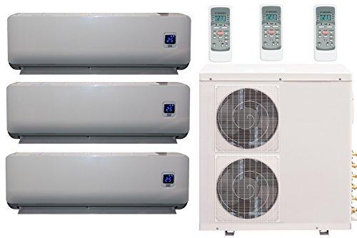 Comfee MS11M6-27HRFN1-TRIO Full-Inverter Split-Klimagerät 3 x 9000 BTU inklusive Wärmepumpe, Raumgröße 3 x 32 m² , EEK: A++