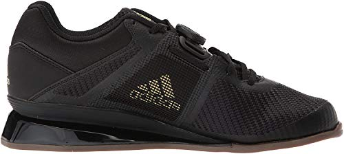 adidas Men's Leistung.16 II Cross Trainer, core Black/Matte Gold/core Black, 14.5 M US