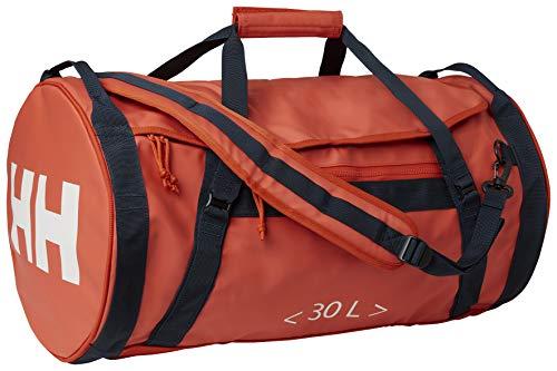 Helly Hansen HH Duffel Bag 2 30L Bolsa y Mochila, Adultos Unisex, Patrol Orange (Naranja), Talla Única
