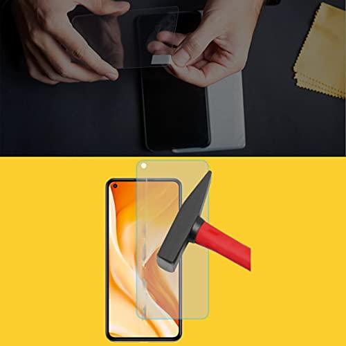 EnWi | 2X Panzer-Glas-Folie 9H Bildschirm-Schutz-Folie für Xiaomi Mi 11 Lite 5G