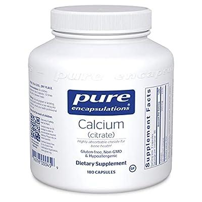 Pure Encapsulations - Calcium (Citrate) - 180ct