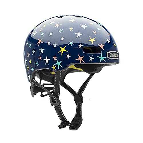 Nutcase Jugendliche, Unisex Little Nutty-Stars Are Born Helm, Mehrfarbig, S