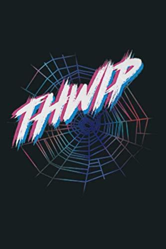Marvel Spider Man Spider Web Thwip Premium: Notebook Planner -6x9 inch Daily Planner Journal, To Do List Notebook, Daily Organizer, 114 Pages