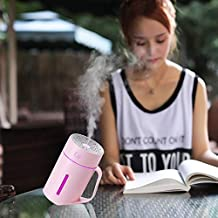 Household Appliances ML-S2 Water Cup Shape Intelligent Mute LED Night Light Atomized Humidifier Air humidification Machine...