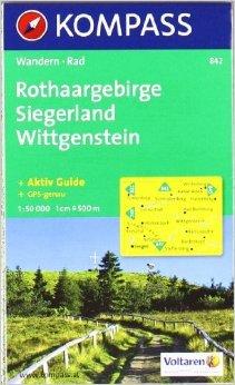 Sauerland 2 - Hochsauerland - Rothaargebirge - Siegerland: Wanderkarte mit Kurzführer und Radrouten. GPS-genau. 1:50000 (KOMPASS-Wanderkarten) ( Folded Map, März 2014 )