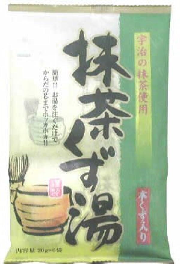 膨張する報いるコンチネンタル抹茶くず湯 20gx6袋