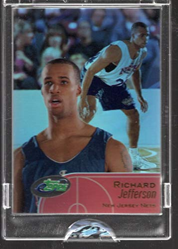 2001-02 etopps Topps Limited Edition trading card Richard Jefferson #66 New Jersey Nets