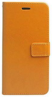 【(エンジェルショップAngelshop)  iPhone6 4.7インチ 】新作  便利カード収納レザーオシャレケース保護フィルムセット 【オレンジ】 AngelshopオリジナルJANコード取得済み 正規品(JAN:4580400483833)