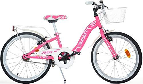 Bici Bicicletta Sfera Misura 20 Dino Bikes Bambina Bimba Art. 204 R Fuxia novità