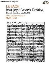 Jesu Joy of Mans Desiring Piano Solo (Chorale From Cantata No. 147).