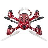 SHISHUFEN Aeronave Hubsan X4 H107C Cuadricóptero RC de 4 Canales y 2,4 GHz con cámara HD de 0,3 MP