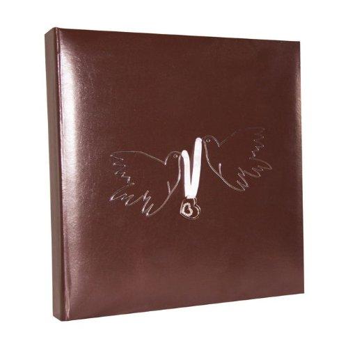 Santex Libro de Invitados Doves Chocolate