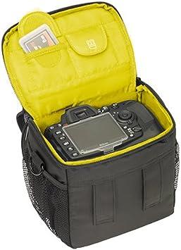 a58y Place pour body et objectif, avec bandouli/ère et pochette pour accessoires avec film de protection d/écran PEDEA /Étui pour Sony SLT-A58/K a37/K//Panasonic Lumix