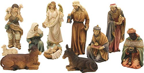 Dekop Krippenfiguren orientalisch, geeignet für 8cm Krippenfiguren (44635099775)