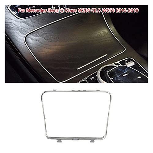 FangFang Titular de la Taza de Agua del Coche Strip Plating Cenicero Ajuste Ajuste Ajuste para Mercedes Fit para Benz C Class GLC W253 W205 GLC200 2056830900 15-19