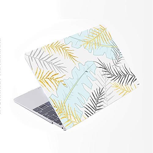 Toma SDH para MacBook Pro de 13 pulgadas (2020/2019/2018/2017/2016, barra táctil e identificación),estuche rígido con patrón de plástico,adecuado para Mac Pro 13 A2159/A1989/A1706 / A1708,Miyo 5