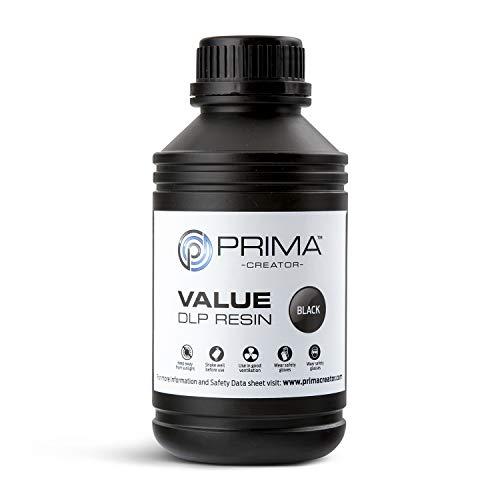 PrimaCreator Value Uv/Dlp Dlp Resin, 500 ml, Light Grey