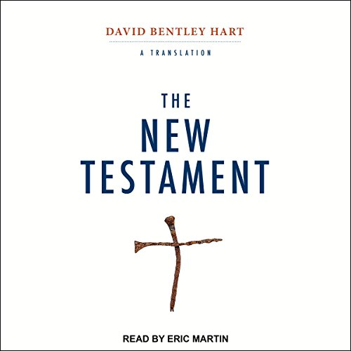 The New Testament audiobook cover art
