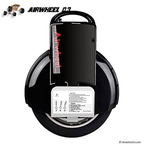 Airwheel Q3, gyroroue Rad Herren, Schwarz, 51.8x 40.8x 20cm*