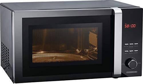 Melissa 16330127 Mikrowelle mit Digital Display 25 Liter Digitale Mikrowelle mit Grill und Konvektion (Heissluft)