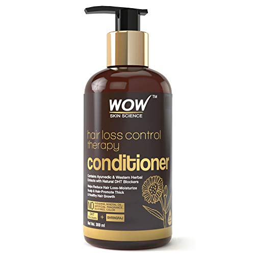 WOW Skin Science Hair Loss Control Therapy Conditioner, 300 ml