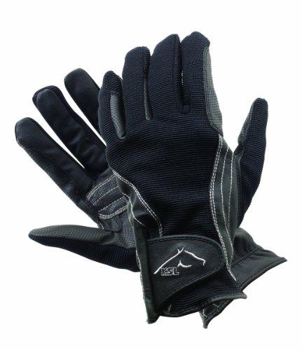 Er RSL Davos WNTR rdng Game Handschuh schwarz schwarz Medium (7.5)