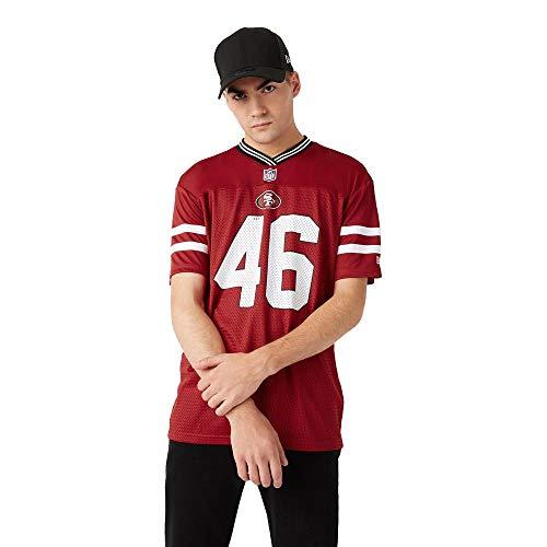 New Era San Francisco 49ers Jersey T-Shirt NFL Fanshirt American Football Rot - XL