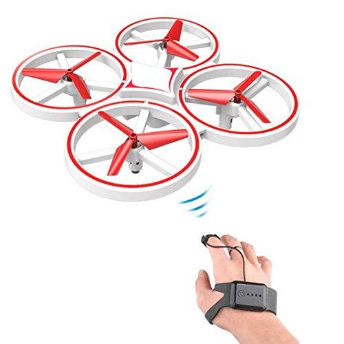 N-B RC Mini Quadcopter Inducción Drone Reloj Inteligente Detección remota Gesto Aviones UFO Control Manual Drone Helicóptero Drone para niños