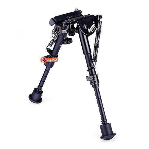 zeadio 6-9 inches Extendable Tactical Bipod with Sling Mount