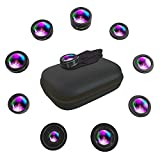 SNAPIX iPhone Camera Lenses Kit Attachments Set 9 in 1 Universal...