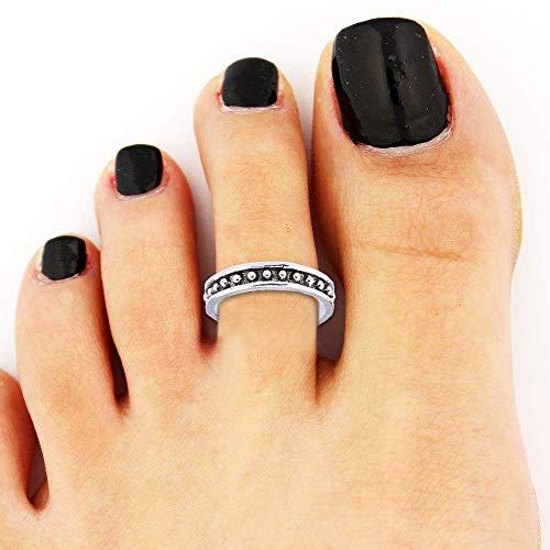 Glamza Dots-A - Anello per dita dei piedi, 1 pezzo