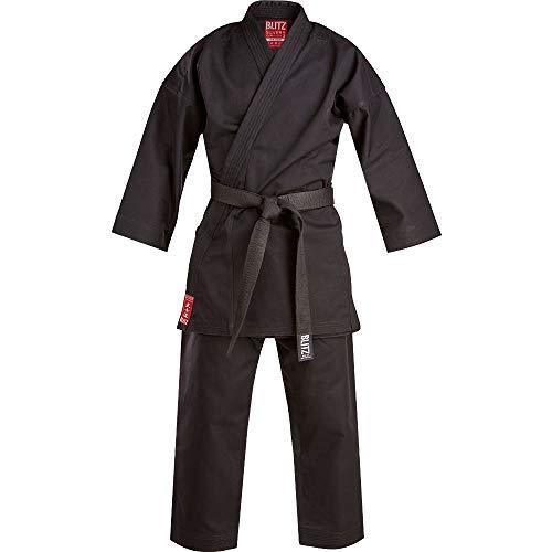 Blitz Silver Tournament Karate-Anzug, Schwarz, 4.5/175 cm
