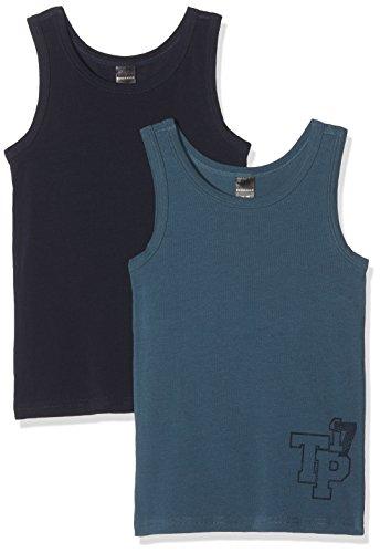 Schiesser Jungen Multipack 2Pack Shirts 0/0 4007064747878, Mehrfarbig (Sortiert 901), 176 (2er Pack)