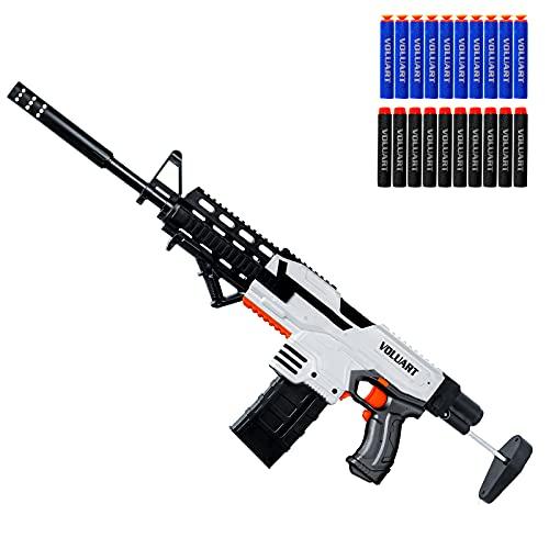 Voluart Electric Automatic Toy Guns for Nerf Guns Bullets, Long-Range Precision Shooting, Toy Foam...