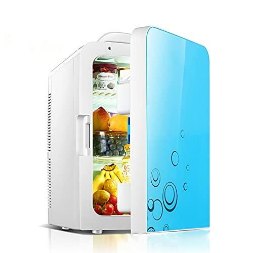 Mini Refrigerador Nevera Portátil 20L Pequeño Frigorífico Mini Bar Silencioso Neveras Congelador para Dormitorio Oficina Apartamento Coche Casa Hoteles El Ahorro De Energía