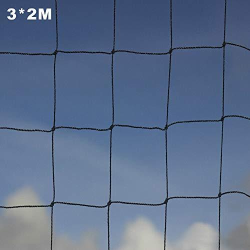 ZQEDY Gartennetzpflanzen Klettern Geflügel Voliere Taube Hühnerkulturen Schutz Anti Vogelfarm Hochleistungs Mesh PE Mehrzweck Yard Strong(3x2m)