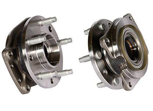 Callahan C513044X2 [2] Pair FRONT Premium Grade [ 5 Lug ] Wheel Hub Bearing Assemblies [ 513044 ]