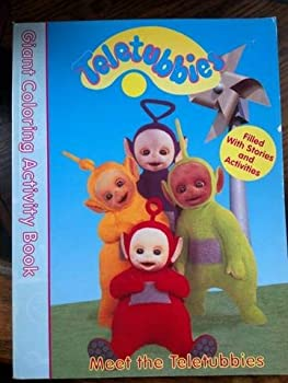 Teletubbies Coloring Activity Book: Come and Play - Book  of the Teletubbies