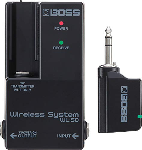 BOSS WL‑50 Guitar Wireless System