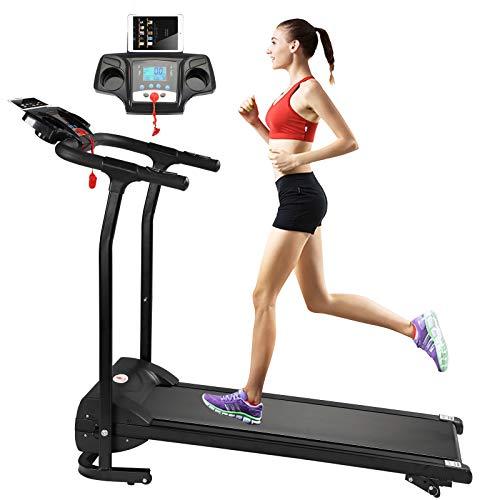 Fitnessclub Folding Electric Motorised 1100 W Treadmill Walking Running Machine...
