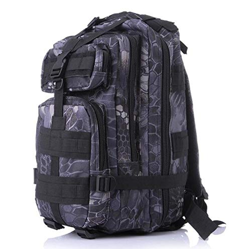 Military Tactical Backpack, Large Capacity Rucksacks Army Assault Pack Bag for hunting, Trekking and Camping and other outdoor activities-Desert Camo_35L
