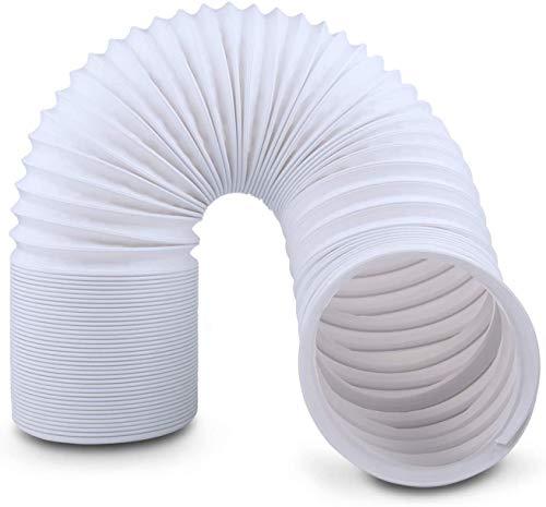 KlimTek Klimaanlage Schlauch Rohr PP-Kanal Schlauchverlängerung mit 15cm Durchmesser, Länge bis 150cm