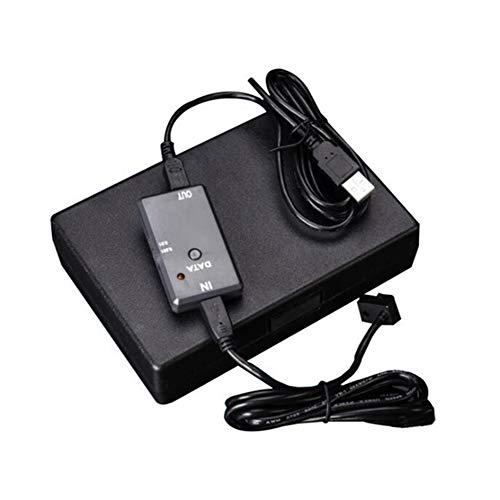 SNOWINSPRING Herramientas de MedicióN de Pantalla Digital Cable Adaptador de AdquisicióN de Datos USB para MicróMetro de Esfera ElectróNica Medidor de Calibre de Espesor